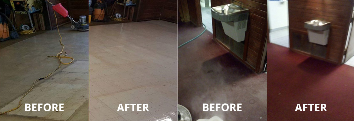 Before & After Carpet Cleaning by Pro Care Carpet Cleaning in East Stroudsburg, PA