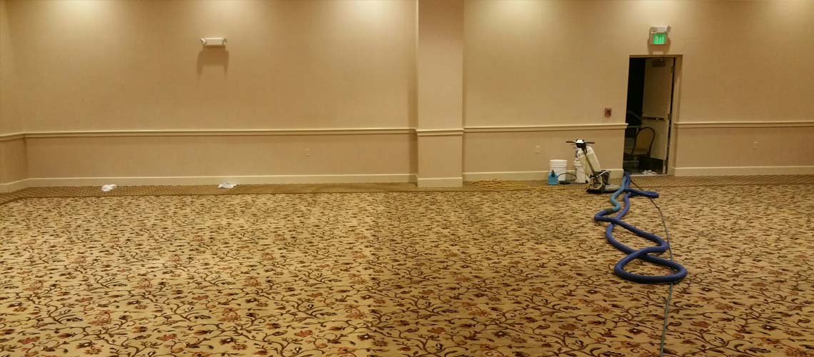 Banquet hall Carpet cleaning in Stroudsburg, PA by Pro Care Carpet Cleaning